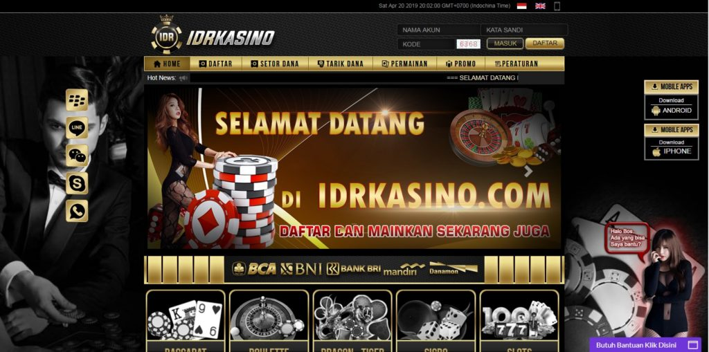 IDRKASINO Agen Judi Casino Online Terpercaya di Indonesia