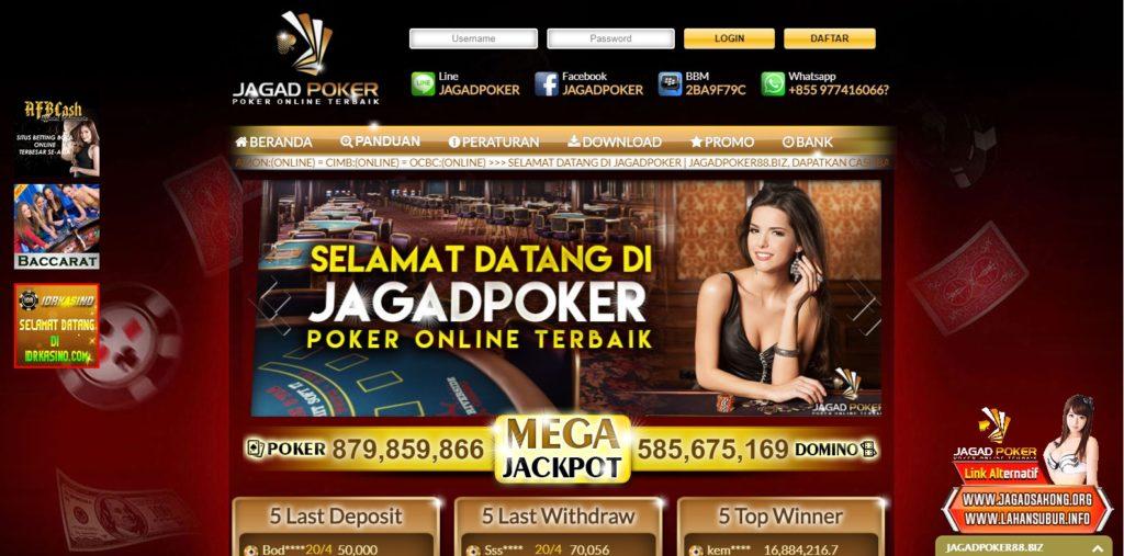 Jagad Poker Situs Poker Online Terbaik di Indonesia