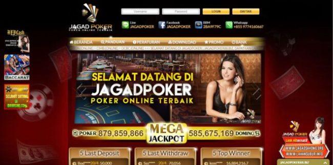 Jagad Poker Bandar Judi Online Terbaik di Indonesia