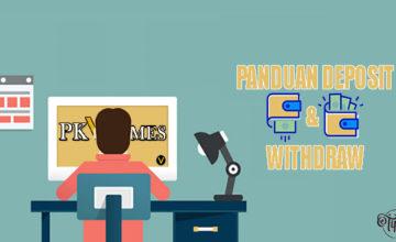 Panduan Deposit dan Withdraw Di Situs PKV Games