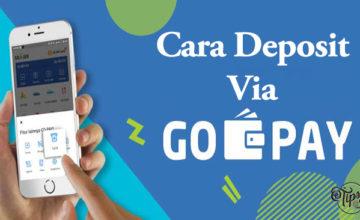 Cara Deposit Via GoPay