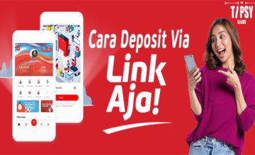 Cara Deposit Via LinkAja di Situs Judi Poker Online